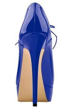 Only Maker Lace Up High Heeled Platform Shoes | Atomic Jane Clothing