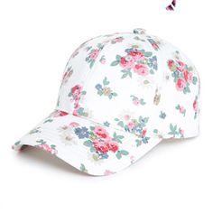 floralBaseball Cap