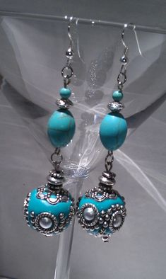 Bollywood inspired turquoise embellished beaded by LilaRoseJewelry, $25.00 #Jewelry #fashion #