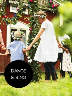 Preferably dressed in white. A Midsummer party would not be complete without music and dancing! Young and old alike join in, dancing and singing around the traditional maypole with great Swedish Cottage, Local Festivals, Specials Today, Kids Around The World, Swedish Style, Summer Solstice, June Solstice, Summer Parties, Summer Fun