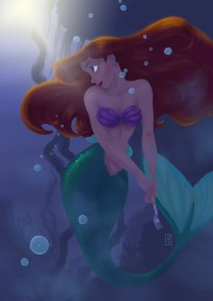 Ariel by ~SlamBoy on deviantART