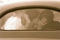 10 wedding photo ideas...loving the backseat window photo!
