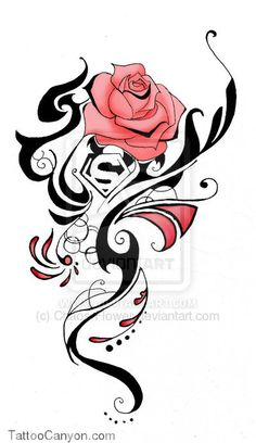 Rose Tattoo Commission By Chaos Flower On Deviantart picture 14693