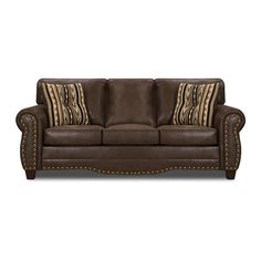 Another leather sleeper sofa Sofa And Loveseat Set, Couch Set, Chair And Ottoman, Sofa Bed, Classic Living Room, Classic Sofa, Distressed Leather, Home Renovation, Love Seat