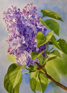 watercolors start to finish - sharon freeman