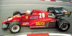 Arnoux Ferrari Monaco '83.