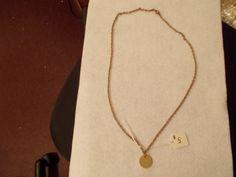 Believe Charm Necklace $5 at AmysHandmadeJewelry.com
