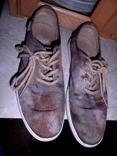 900eb986d2 Vans Ludlow VN 0OKYAIS Stain Canvas OTW Skateboarding Shoes Size 10