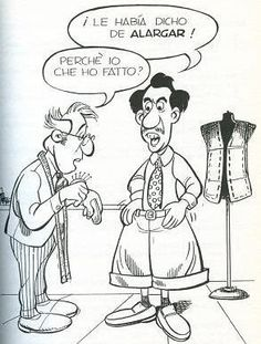 falsos amigos espanol italiano - Allargare (rendere più largo, più ampio) vs alargar (dar más longitud a algo)