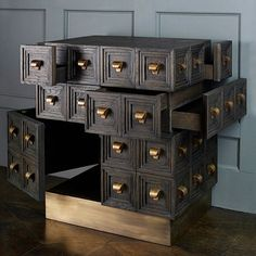 "EVERYTHING IN ITS RIGHT PLACE | Multi-drawer ""Chaak"" chest by #BCworkshop #BlackmanCruz"
