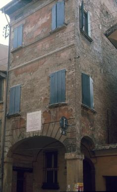 my first house in Bologna
