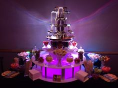 Twice The Fun! Hire A Double Chocolate Fountain For Your Special Event Chocolate Fountain Wedding, Chocolate Fountains, Luxury Chocolate, Next Wedding, Chocolate Lovers, Corporate Events, Unique Weddings, Spice Things Up, Sweet 16