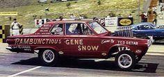 Gene Snow Rambunctious Dodge Altered Wheelbase.