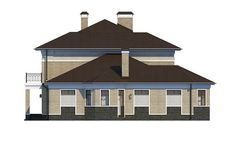 Проект «Шербон» - Вид справа Gazebo, Outdoor Structures, Cabin, House Styles, Design, Home Decor, Kiosk, Decoration Home, Room Decor