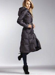 VS long puffer jacket $158