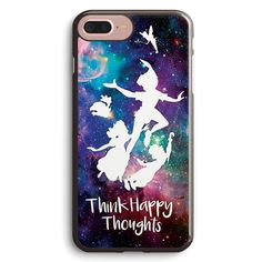 Think Happy Thoughts Peter Pan Apple iPhone 7 Plus Case Cover ISVH635