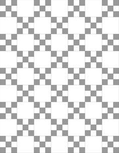 Irish Chain Nine-Patch Quilt Tutorial Beginner Quilt Patterns, Quilt Block Patterns, Quilt Tutorials, Quilt Blocks, Bag Patterns, Pattern Blocks, Irish Chain Quilt, Nine Patch Quilt, Charm Quilt