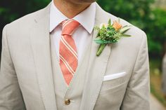 Photography : White Daisy Photography | Florist : Heidi Gellerman  | Groomsmen Attire : J. Crew  Read More on SMP: http://www.stylemepretty.com/2014/05/08/golden-sebastopol-wedding-at-oconnell-vineyards/