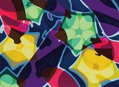 2016年度 多摩美術大学 テキスタイルデザイン専攻 現役合格者再現作品:色彩構成