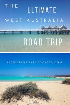 The Ultimate West Coast Australia Road Trip - Big World Small Pockets West Coast Australia, Visit Australia, Western Australia, Australia Travel, Australia Holidays, Australia Visa, Australia 2017, Queensland Australia, Australian Road Trip