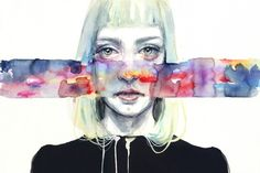 Fuoriluogo by Agnes Cecile | Eyes On Walls