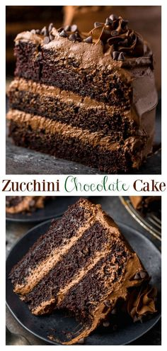 Chocolate Zucchini Cake – Moist Chocolate Zucchini Cake Recipe This is a great recipe for Chocolate Zucchini Cake with Chocolate Frosting! 2 cups of shredded zucchini makes this cake so moist and delicious. You're going to love this cake! Sweet Recipes, Cake Recipes, Dessert Recipes, Vegan Recipes, Köstliche Desserts, Delicious Desserts, Food Cakes, Cupcake Cakes, Cupcakes