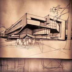 sketch for architecture
