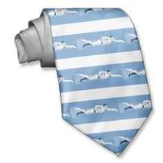 swimmer swimming freestyle front crawl custom ties