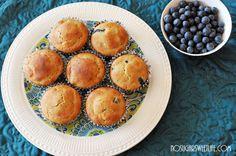 Sincere Thanks + {Greek Yogurt Blueberry Muffins} | Nosh and Nourish