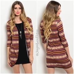 """HOST PICK2 in 1 Brown Boho Dress Lovely mini brown dress with boho cardigan Attached.Fabric Content: 95% POLYESTER 5% SPANDEX!  HOST PICK 6/16/16 BY @courtneyparadel  Description: L: 33"""" B: 13"""" W: 12"""" Dresses Mini"""