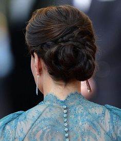 Kate's Hair for Olympic Gala
