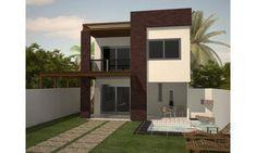 Fachadas Casas Bonitas Modernas Fachada-de-casa-bonita-moderna