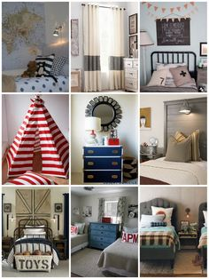 I think this collage sums up what I want my baby's room to look like!