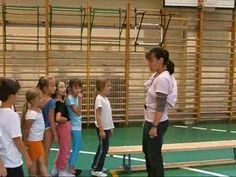 Grimm Zsuzsa órája 1b 2009.10.15 - YouTube Pe Activities, Infant Activities, Grimm, Basketball Court, Classroom, Education, Sports, Youtube, Exercises