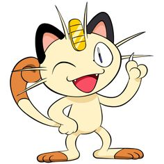Meowth from Pokemon - Marry Your Favorite Character Online Pikachu Pikachu, Pokemon Meowth, Cat Pokemon, Pokemon Team, Pokemon Party, Pokemon Birthday, Equipe Rocket Pokemon, Pokemon Fantasma, Character Online