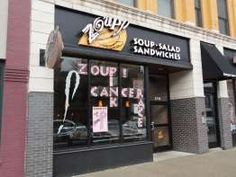 The soup and bread are fantastic. Soup Company, Fast Food Restaurant, Sandwiches, Eat, Store, Storage, Shop