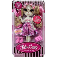 Pinkie Cooper and the Jet Set Pets Fashions  Pink Dress (Doll sold separtely)