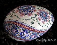 Nfac Ring Around The Rosie Pysanka Pysanky Ukrainian Easter Egg Batik EBSQ Sojeo.