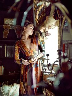 vestido patchwork