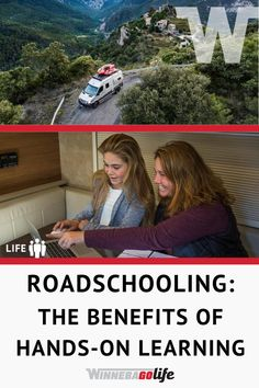 Learn what the advantages are when you trade in a traditional classroom education for an education while exploring the world. See how hands-on activities can enhance learning, and how to make this lifestyle work for your family. From cultural immersion, to life skills development these tips and ideas offer real life experiences and less textbook reading. Merging homeschooling with fulltime rving creates the best of both worlds. #WinnebagoLife #Roadschooling #FulltimeRving… Hands On Learning, Hands On Activities, Rv Parks, Rv Travel, Rv Life, Great Stories, Life Skills, Textbook, Homeschooling