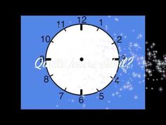 Telling Time around the Clock French Language Lessons, French Language Learning, French Lessons, French Teaching Resources, Teaching French, Core French, French Class, French Websites, Communication Orale