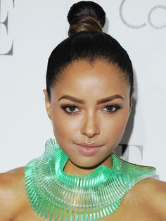 Kat Graham's Purple Shadow