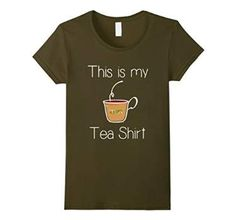 Tea Shirt | Gift for Tea Drinkers | Tea Lover Gifts #pun #tealover #tea #teadrinker #englishbreakfast #hibiscus #pun #puns #punshirt
