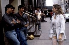 Into The Groove - Will it be on the Rebel Heart Tour? Madonna from Desperately Seeking Susan 1985 Madonna Movies, Madonna 80s, Nine Movie, Desperately Seeking Susan, Fashion Design Classes, Nora Ephron, Rebel Heart, Valley Girls