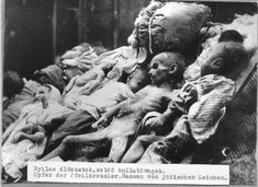 A mass of corpses of Jewish victims