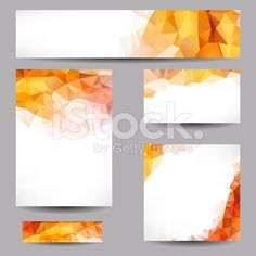 Backgrounds with abstract triangles royalty-free stock vector art