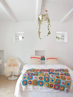 Una preciosa casa llena de color en Ibiza   Bohemian and Chic
