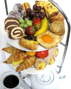 high tea menu   tea tray Gold Coast River Cruises