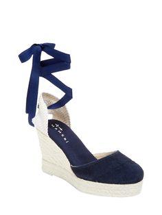 7eb13b7d09b MANEBI HAMPTONS SUEDE WEDGE SANDAL.  manebi  shoes