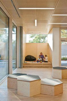 Image 7 of 14 from gallery of Kindergarden Schukowitzgasse / KIRSCH Architecture. Photograph by Hertha Hurnaus